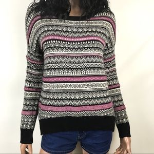 Coincidence & Chance Fair Isle Pullover Sweater
